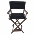 Кресло режиссера складное  высокий,  цвет кедр (стул режиссера высокий, ясень)