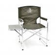 Кресло складное  со столиком (пластик), алюминий