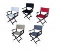 Комплект из Цветной  Спинки и сидение для деревянного кресла режиссера