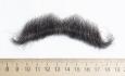 усы малые черн (натуральный волос))