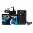 Умное зарядное устройство Robiton Smart S100 для Ni-Mh Ni-Cd на 4 аккумулятора АА и ААА с функцией р