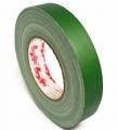 Тейп MagTape на тканевой основе матовый зелёный 25мм х 50м