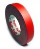 Тейп MagTape на тканевой основе матовый красный 25мм х 50м