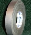 Тейп MagTape XTRA MATTна тканевой основе матовый серебристый 25мм х 50м