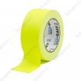Тейп PRO-GAFF флуоресцентный, желтый на тканевой основе  48мм х 22.86м
