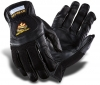 Перчатки защитные кожаные черные Pro Leather M/9