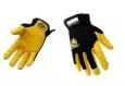 Перчатки защитные кожаные Желтые Pro Leather L/10