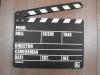Хлопушка для кино деревянная, на английском языке