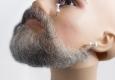 Борода средняя, профессиональная, накладная, с усами ( натуральный волос)