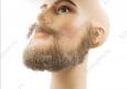 Борода полная с усами, профессиональная, накладная, (натуральный волос)