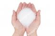 Искусственный снег прозрачный, сыпучий, полимерный 1