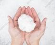 Искусственный снег белый,сугробный, вискозный 0.2 кг