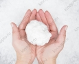 Искусственный снег белый,сугробный, целюлозный PERENOVA 1 кг
