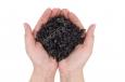 Пепел искусственный , полимерный, темно-серый, «Grey Ashes» 1кг