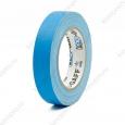 Тейп PRO-GAFF флуоресцентный голубой на тканевой основе 24мм х 23 м