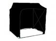 Палатка светонепроницаемая быстросборная 2.0 х 2.0 м, черная