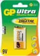 Элемент питания GP Ultra Alkaline 1604AU, 9V