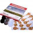 Самоклеющаяся ветрозащита для  микрофонов OVERCOVERS ( 2шт. черный, 2шт. белый, 2шт. серый))