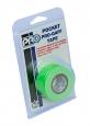 Тейп (скоч) Pro Gaff Pocket флуоресцентный зеленый на тканевой основе  24mm x 5.5m